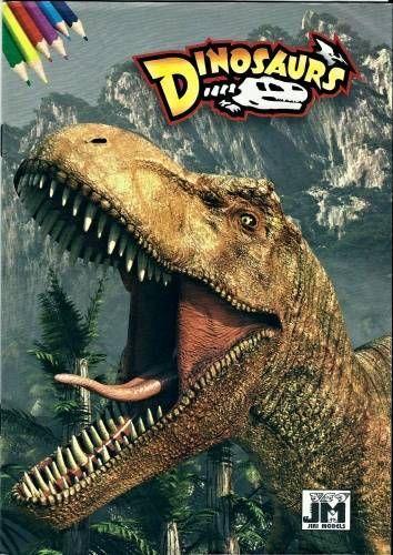 Omalovánky - Dinosauři (14 stran)