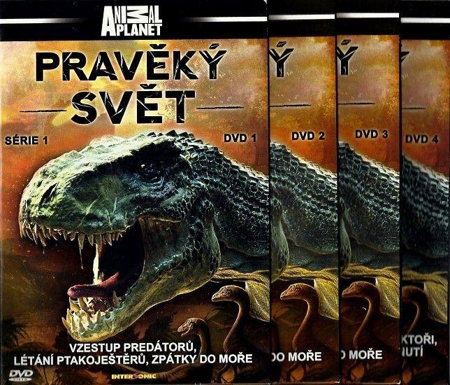 Pravěký svět, série 1 - kolekce 4 DVD