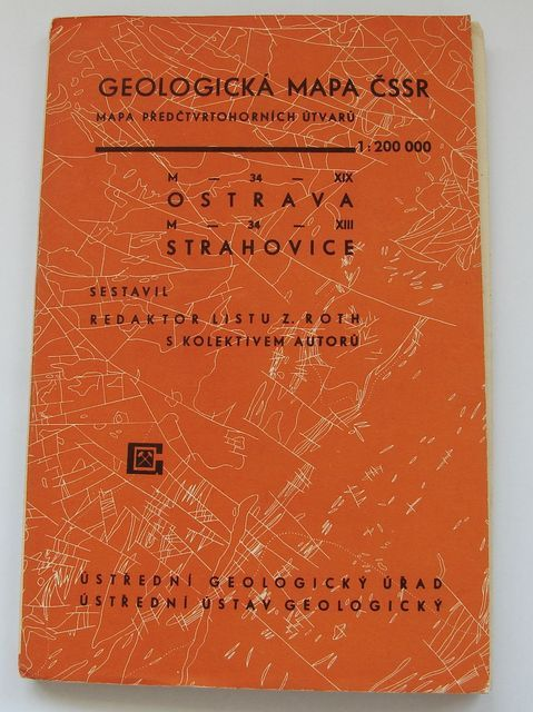 Geologická mapa 1:200 000, list Ostrava - Strahovice