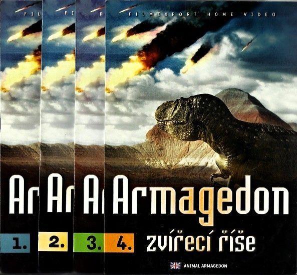 Armagedon zvířecí říše 4 DVD pošetka