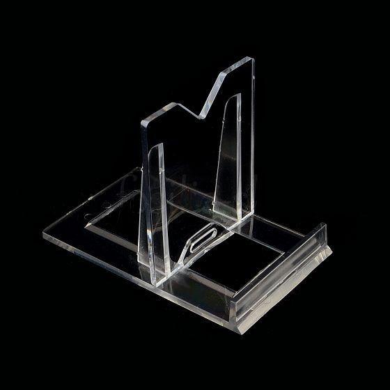 Čirý malý plastový stojánek s opěrkou 1ks