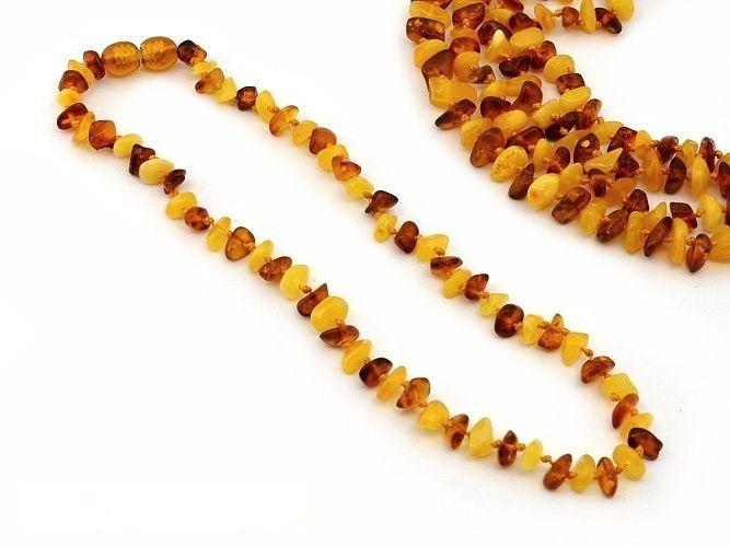 Malý náhrdelník na bolest zubů u dětí - baltský jantar (6)