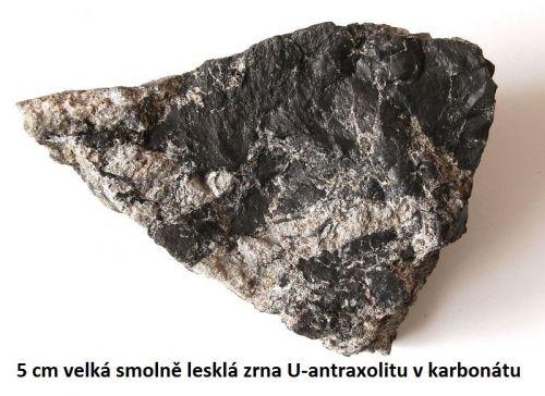 Antraxolit - Dolní Rožínka