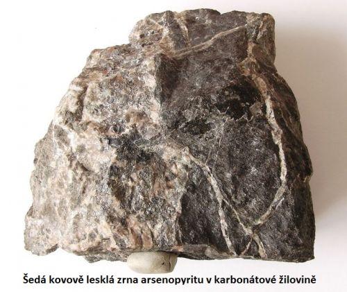 Arsenopyrit - Dolní Rožínka