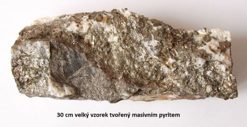 Pyrit - Dolní Rožínka