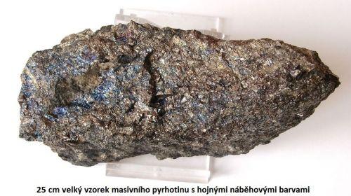 Masivní Pyrhotin - Dolní Rožínka