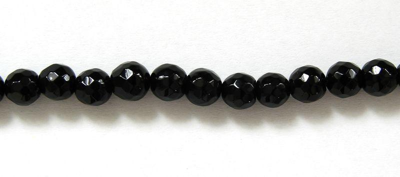 ONYX - kuličky fazetované 6 mm (3)