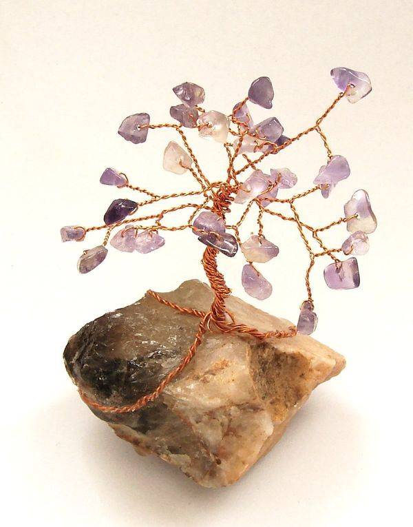 Stromeček štěstí z ametystu 3