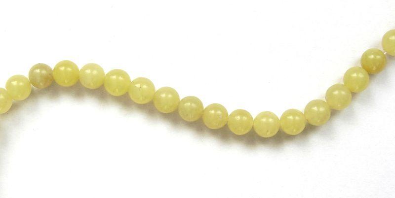 Olivín - kuličky 6 mm 1 ks (2)