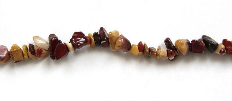 Sekané korálky ,,chipsy,, z MOKA JASPISu (1)