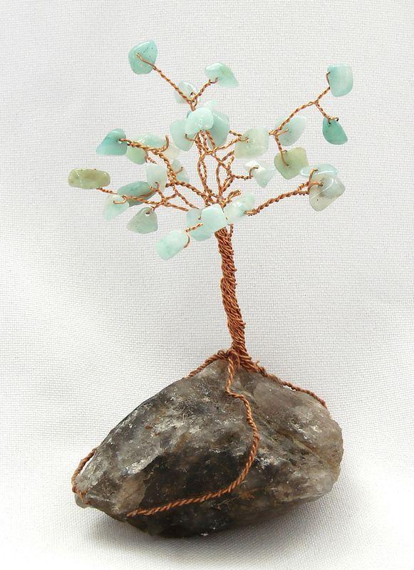 Stromeček štěstí z amazonitu 4
