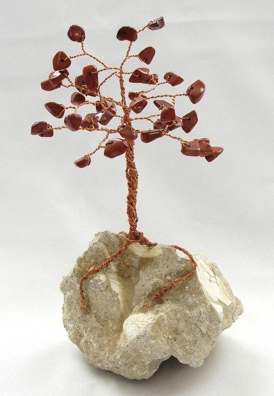 Stromeček štěstí z jaspisu 5