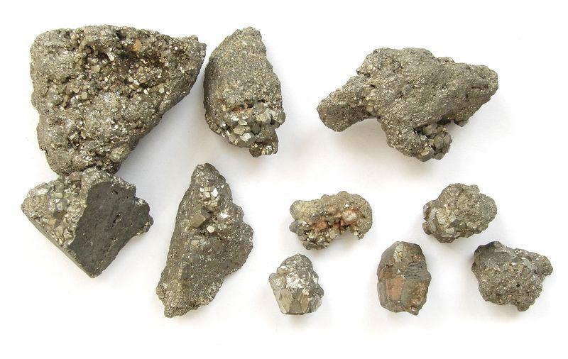 Nerost Pyrit - drůza, Huanzala, Peru (48)