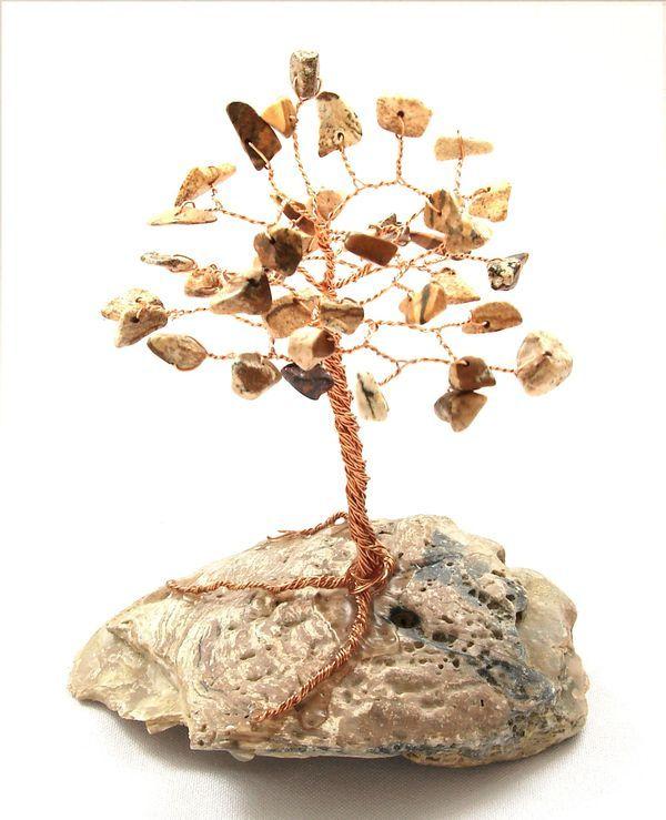 Stromeček štěstí z obrázkového jaspisu (2)