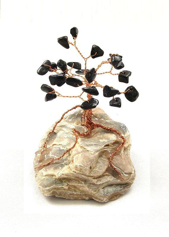 Stromeček štěstí z restaurovaného avanturinu (2)