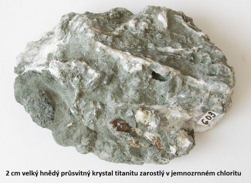 Titanit - Dolní Rožínka