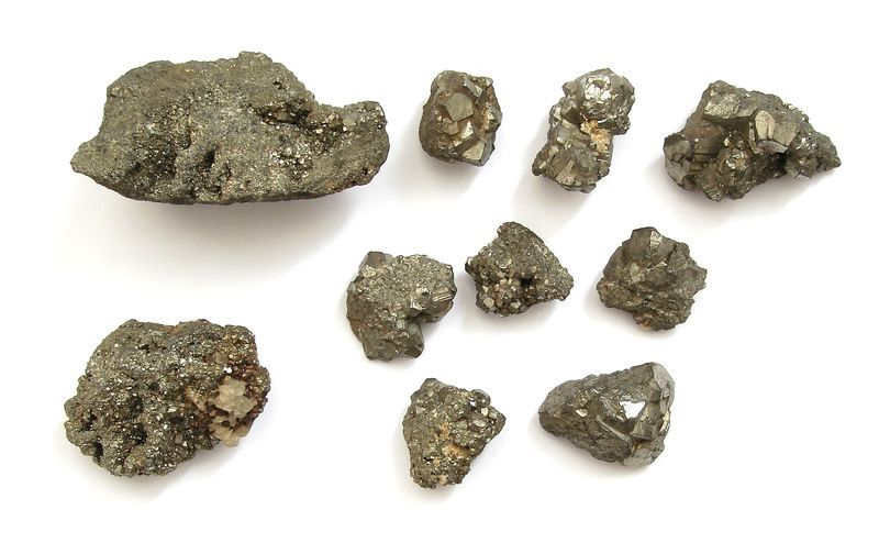 Nerost Pyrit - drůza, Huanzala, Peru (72)