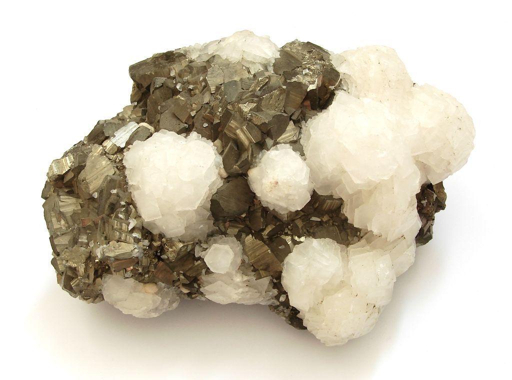 Nerosty kalcit a pyrit - Kosovo (58)