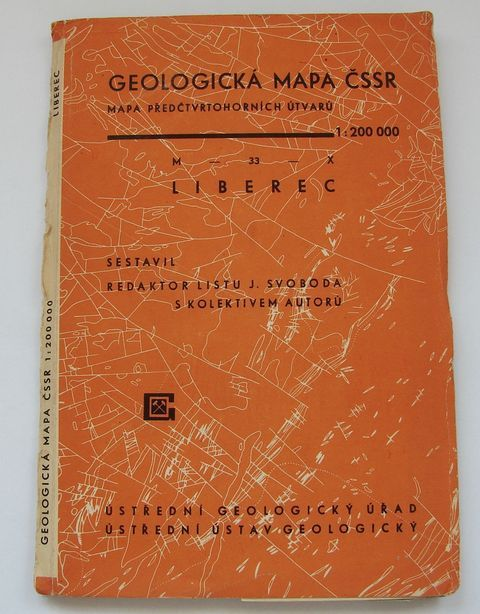 Geologická mapa 1:200 000, list Liberec