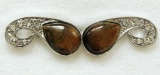 Tygří oko - prsten na dva prsty (2), univerzální velikost