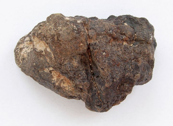 Kamenný meteorit - chondrit L6 - M´hamid, maroko, NWA 515 (2)