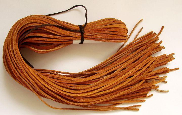 Kůže - oranžová, 55 až 60 cm