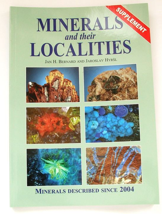 Minerals and their Localities - Supplement (dodatky) - Bernard, Hyršl