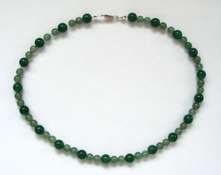 Náhrdelník zelený aventurin (9)