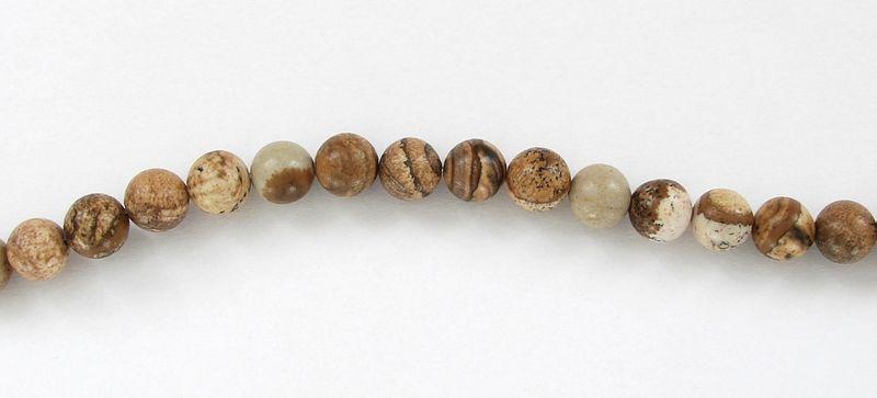 Obrázkový jaspis - kuličky (1)
