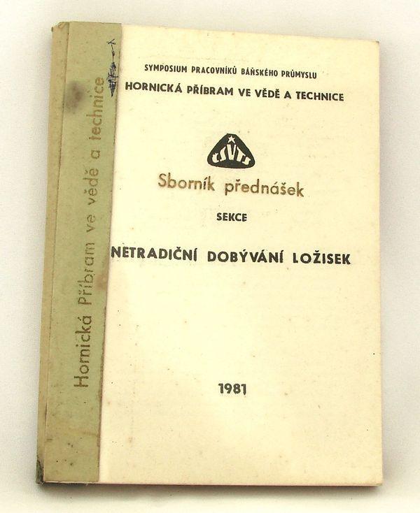 Sborník Hornická příbram ve vědě a technice 1981