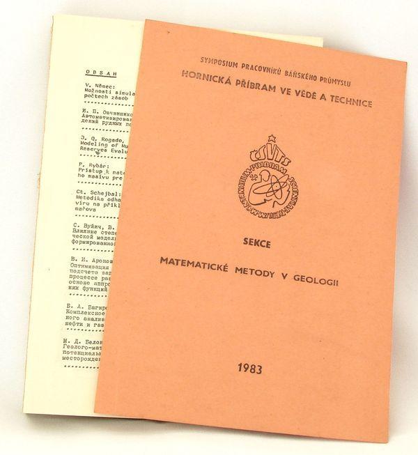 Sborník Hornická příbram ve vědě a technice 1983