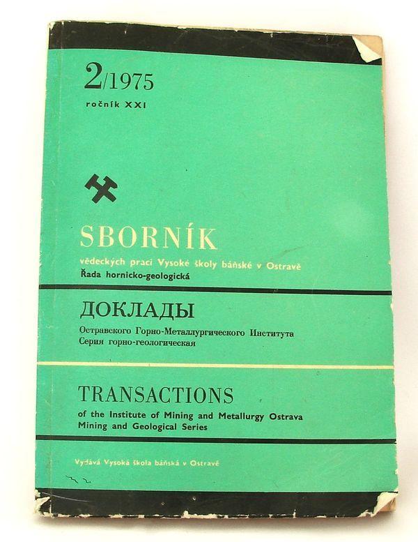 Sborník vědeckých prací VŠB 2/1975