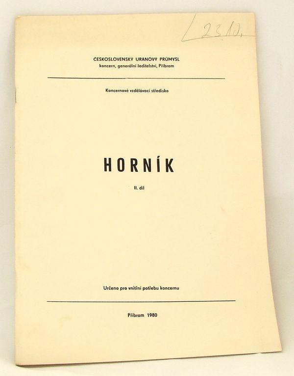 Skripta Horník - 2. díl