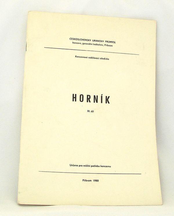 Skripta Horník - 3. díl