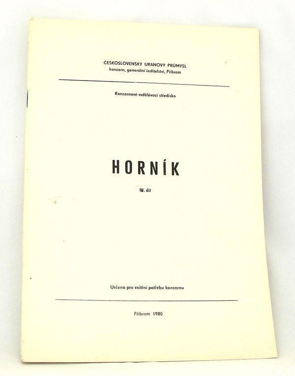 Skripta Horník - 4. díl