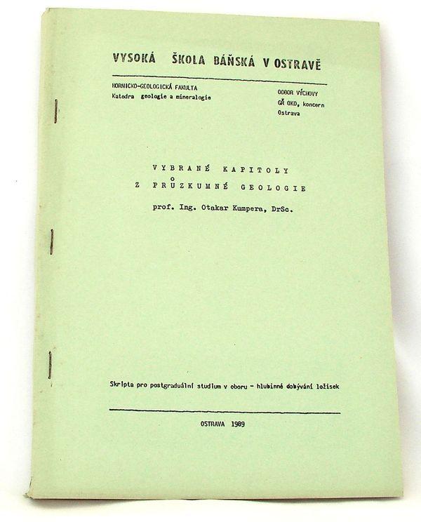 Vybrané kapitoly z průzkumné geologie - O.Kumpera