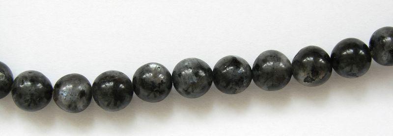 Labradorit - kuličky 8 mm (2)