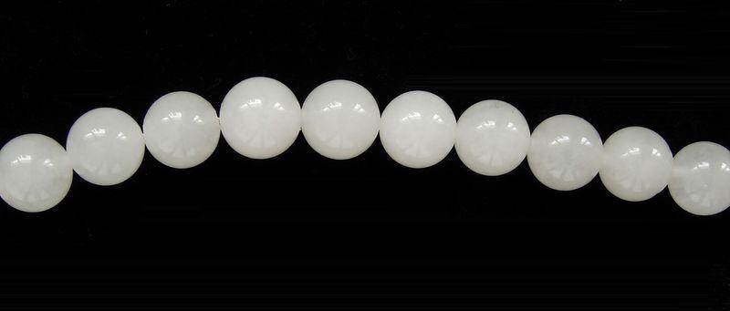 přírodní JADEIT - kuličky 10 mm (4)