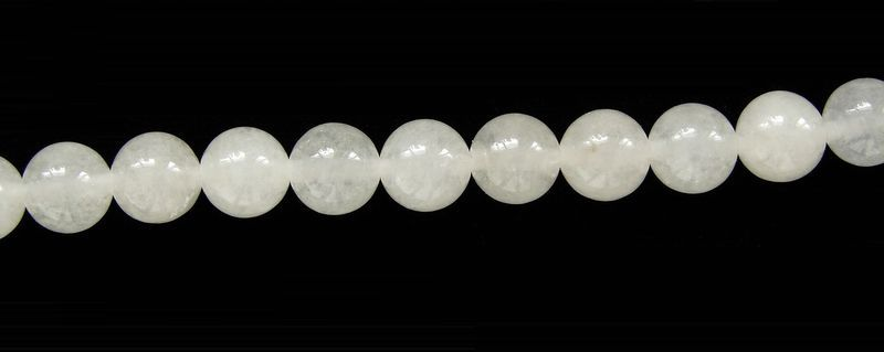 přírodní JADEIT - kuličky 8 mm (3)